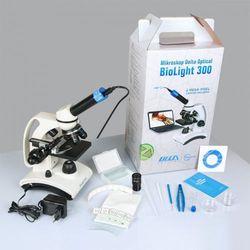 Delta optical Mikroskop szkolny biolight 300  z kamerą 2mp, kategoria: mikroskopy