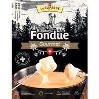 Ser szwajcarski do FONDUE Le Superbe 4 x 400g - produkt z kategorii- Nabiał