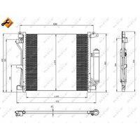 Skraplacz, klimatyzacja NRF 350226