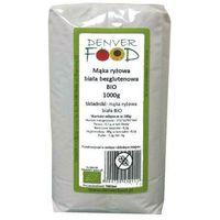 Denver food Mąka ryżowa biała bezglutenowa 1kg -  eko (5904730450911)
