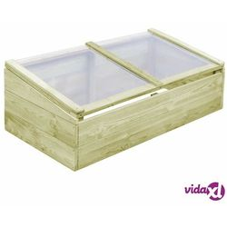 vidaXL Szklarnia, impregnowane drewno sosnowe, 100x50x35cm (8718475710622)