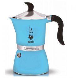 Bialetti kawiarka Fiammetta Fluo 3 tz błękit (8006363019026)