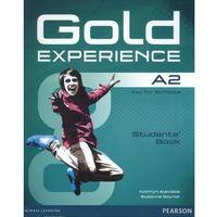 Gold Experience A2. Podręcznik + DVD (opr. miękka)