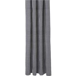 Ferm living Zasłona prysznicowa chambray w pasy