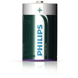 2 x bateria cynkowo-węglowa Philips LongLife R20 D (taca) z kategorii Baterie