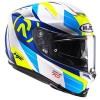 KASK HJC R-PHA-70 LIF BLUE/WHITE/YELLOW