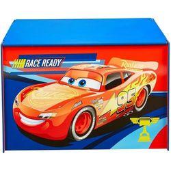 Disney skrzynka na zabawki, auta, 60x40x40 cm, niebieska, worl320020