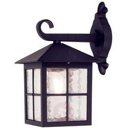 Elewacyjna LAMPA ścienna WINCHESTER BL18 Elstead ogrodowa OPRAWA zewnętrzny kinkiet tarasowy outdoor IP43 czarny (5024005282006)