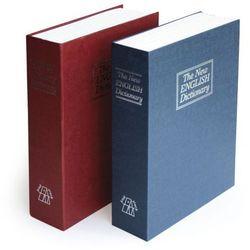 Skrytka na pieniądze i dokumenty - Książka/niebieski, książka z kategorii Pozostałe książki
