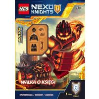 Lego Nexo Knights. Walka o księgi! - Wysyłka od 3,99 (32 str.)