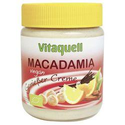 Masło z orzechów macadamia VEGAN BIO 250g- Vitaquell, towar z kategorii: Masła orzechowe, kakaowe i inne