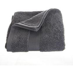 Bawełniany ręcznik do rąk - kolor ciemno-szary 90 x 50 cm