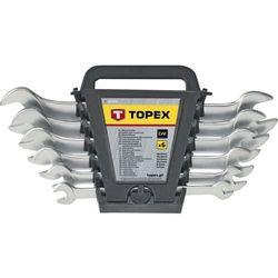 Zestaw kluczy płaskich TOPEX 35D657 (12 elementów) + DARMOWY TRANSPORT!
