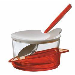 Cukiernica   pojemnik na parmezan bugatti glamour czerwona marki Casa bugatti