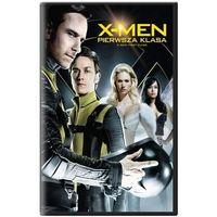 X-MEN Pierwsza klasa (Książka+ DVD) (DVD) - Vaughn Matthew
