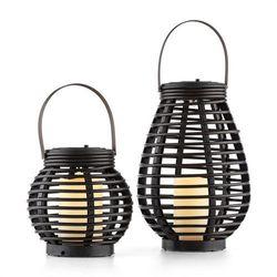 Blumfeldt Lucid Twins lampy solarne lampy zestaw technorattan 600mAh