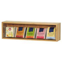 Skrzynka na herbatę z bambusa, pojemnik do kuchni, pojemnik z pokrywką, pudełko na herbatę, pojemnik na ż