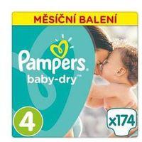 Pieluszki  active baby monthy box s4 174 szt. marki Pampers