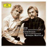 Brahms: Piano Concerto No.1 (CD) - Berliner Philharmoniker, Krystian Zimerman