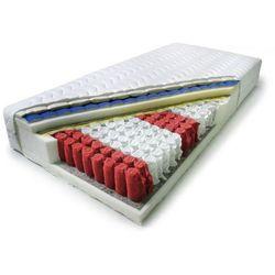 Ekonomiczny materac 7 strefowy tfk w pokrowcu do prania - 90 x 200 cm wyprodukowany przez Recticel komfort snu
