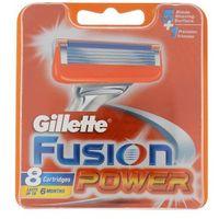 Gillette  fusion power wkład do maszynki 8 szt dla mężczyzn (7702018852529)