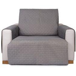 4home narzuta na fotel doubleface szara/jasnoszara, 60 x 220 cm, 60 x 220 cm (8596175012907)