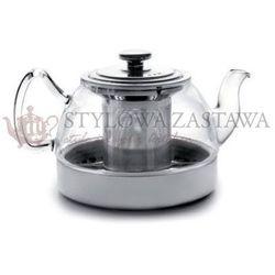 Czajnik szklany 800ml 2w1 z filtrem zaparzacz indukcja marki Ibili