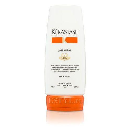 Lait Vital - Mleczko proteinowe do włosów lekko suchych, normalnych 200 ml, Kerastase z Estyl.pl