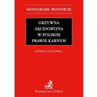 Grzywna akcesoryjna w polskim prawie karnym - Zamów teraz bezpośrednio od wydawcy, książka z kategorii Pra