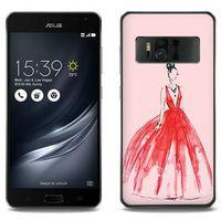 Fantastic Case - Asus Zenfone AR - etui na telefon Fantastic Case - czerwona suknia, ETAS549FNTCFC116000