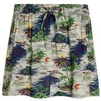 American Outfitters HAWAII Spódnica trapezowa multicolor, kolor wielokolorowy