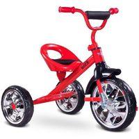 Caretero Rowerek trójkołowy toyz york czerwony + darmowy transport!