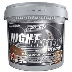 Trec Night Protein Blend - 1500 g (zwiększanie masy)