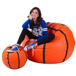 Polskie pufy Pufa, basketball - piłka - zestaw xxxl+l