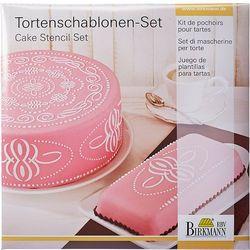Szablony do dekoracji tortów Pattern Birkmann (450 264)