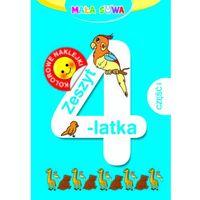 Mała sowa. Zeszyt 4-latka cz.1 (opr. miękka)