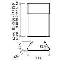 Komin krótki ELICA KIT0010700 - Niski koszt dostawy! Pomoc specjalisty: 661 117 112 - produkt z kategorii- Ko