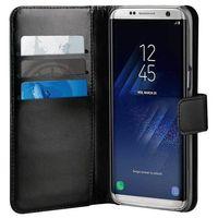 PURO Duetto Wallet Detachable - Skórzane etui 2w1 Samsung Galaxy S8 (czarny), kolor czarny