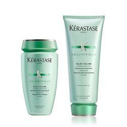 Kerastase Volumifique Zestaw nadający objętość: szampon 250ml + mleczko 200ml, kup u jednego z partnerów