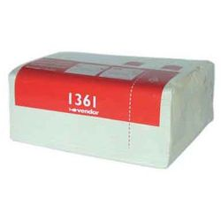 Ręcznik papierowy w kasecie Vendor Vision 2 warstwy 55 m biały pakiet 12 szt.