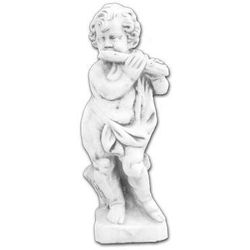Figura ogrodowa betonowa Dziecko z Fletem 70cm