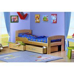 Łóżko parterowe jaś 160x80 kolor od producenta Meble largo