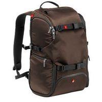 Manfrotto  plecak travel brązowy + kamera sportowa nilox za 1zł