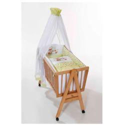 Easy Baby Zestaw pościeli do kołyski Lis kolor zielony - sprawdź w wybranym sklepie