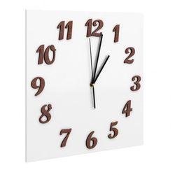 Producent: elior Zegar ścienny presto - biały
