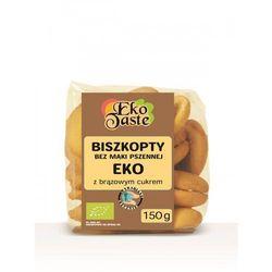 Biszkopty kukurydziane bio 150 g -  (tast) wyprodukowany przez Eko taste