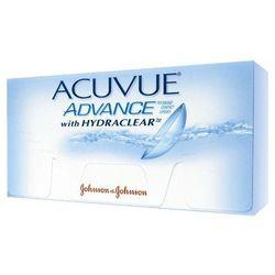 Acuvue Advance Hydraclear BC: 8,70 Promocja z kategorii Soczewki kontaktowe