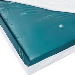 Beliani Materac do łóżka wodnego, mono, 200x200x20cm, mocne tłumienie