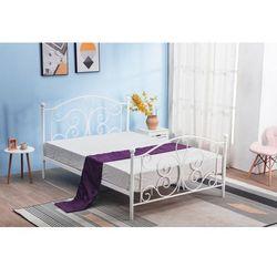 PANAMA 120 cm łóżko metalowe biały (2p=1szt), H_2010001170785