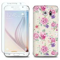 Full Body Slim Fantastic - Samsung Galaxy S6 Edge - etui na telefon Full Body Slim Fantastic - pastelowe róż